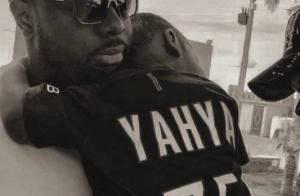 Maître Gims se dévoile en papa protecteur, photo rare avec l'un de ses enfants
