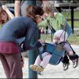 Jessica Alba et sa petite fille Honor s'éclatent au parc Coldwater Canyon de Beverly Hills ! 3/01/09