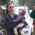 Jessica Alba et sa petite Honor s'éclatent au parc Coldwater Canyon de Beverly Hills ! 3/01/09