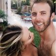 Paulina Gretzky et Dustin Johnson, parents d'un petit Tatum né en janvier 2015, ont annoncé en février 2017 attendre leur deuxième enfant. Photo Instagram.