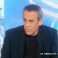 """Thierry Ardisson dans """"Salut les Terriens"""", le 18 février 2017 sur C8."""