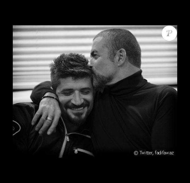 Fadi Fawaz a publié une photo de lui et George Michael sur Twitter le 19 février 2017