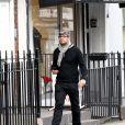 Fadi Fawaz dans les rues de Londres, le 17 janvier 2017