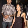 Chris Brown et sa petite amie Karrueche Tran un club d'Hollywood le 29 août 2012.