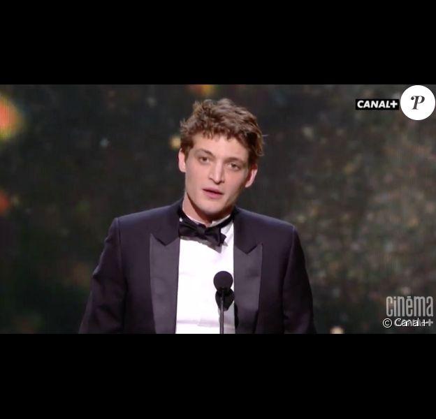 Niels Schneider obtient le César du meilleur espoir masculin pour Diamant noir - 24 février 2017