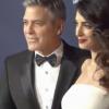 George Clooney avec Amal, enceinte : Entrée furieusement glamour aux César !