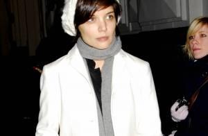 Katie Holmes, question look, elle maintient le cap... bravo !