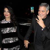 George Clooney et Amal enceinte : Leur séjour romantique et luxueux à Paris