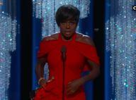 """Oscars 2017: Viola Davis, bouleversante, célèbre les rêves """"des gens ordinaires"""""""