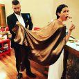 Jessica Biel et Justin Timberlake à la soirée qui a suivi la cérémonie des Oscars le 26 février 2017