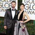 Jessica Biel et son mari Justin Timberlake à la 74ème cérémonie annuelle des Golden Globe Awards à Beverly Hills. Le 8 janvier 2017