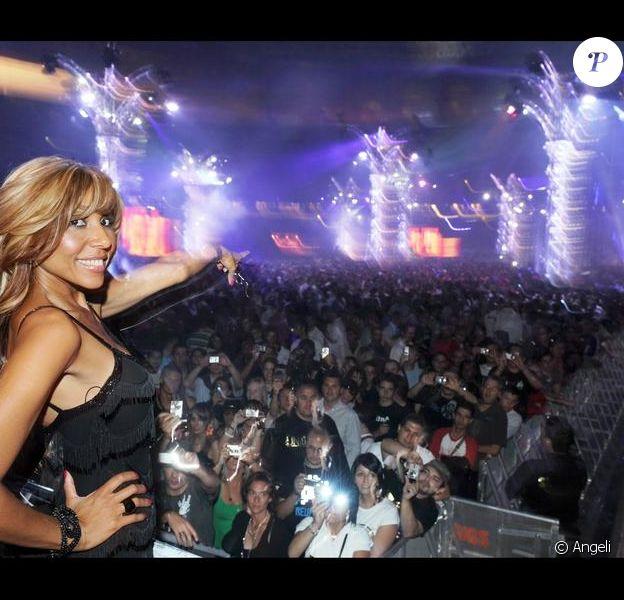 Cathy Guetta lors de la soirée UNIGHTED en 2008
