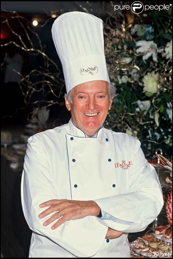 Le pâtissier Gaston Lenôtre, créateur de l'Opéra, est décédé à l'âge de 88 ans...