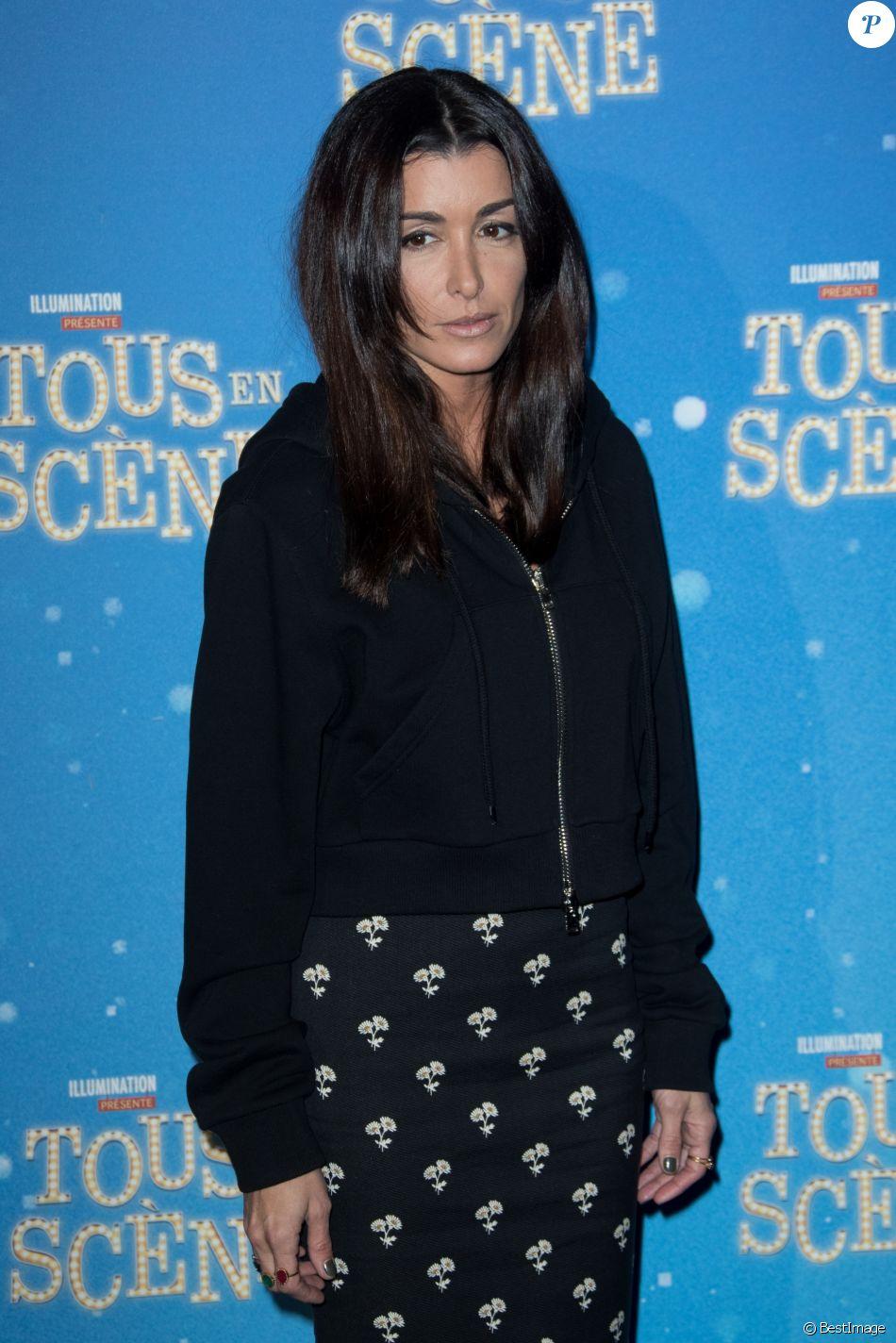 """Jenifer - Avant-première du film """"Tous en scène"""" au Grand Rex à Paris. Le 14 janvier 2017 © Cyril Moreau / Bestimage"""