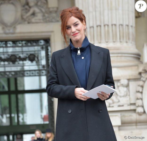 """Fauve Hautot - Arrivées au défilé de mode prêt-à-porter automne-hiver 2017/2018 """"Chanel"""" au Grand Palais à Paris. Le 7 mars 2017 © CVS-Veeren / Bestimage"""