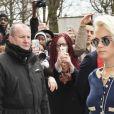 """Cara Delevingne - Arrivées au défilé de mode prêt-à-porter automne-hiver 2017/2018 """"Chanel"""" au Grand Palais à Paris. Le 7 mars 2017 © Pierre Perusseau / Bestimage"""