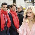 """Lottie Moss - Arrivées au défilé de mode prêt-à-porter automne-hiver 2017/2018 """"Chanel"""" au Grand Palais à Paris. Le 7 mars 2017 © Pierre Perusseau / Bestimage"""