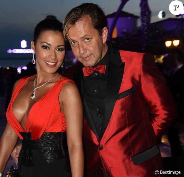Ayem Nour et son compagnon Vincent - Soirée de Grisogono à l'hôtel Eden Roc au Cap d'Antibes lors du 68ème Festival International du film de Cannes. Le 19 mai 2015
