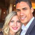 Raphaël Varane et sa femme Camille (Tytgat), ici au Marrakech du rire 2016, attendent leur premier enfant pour le printemps 2017. Photo Instagram.