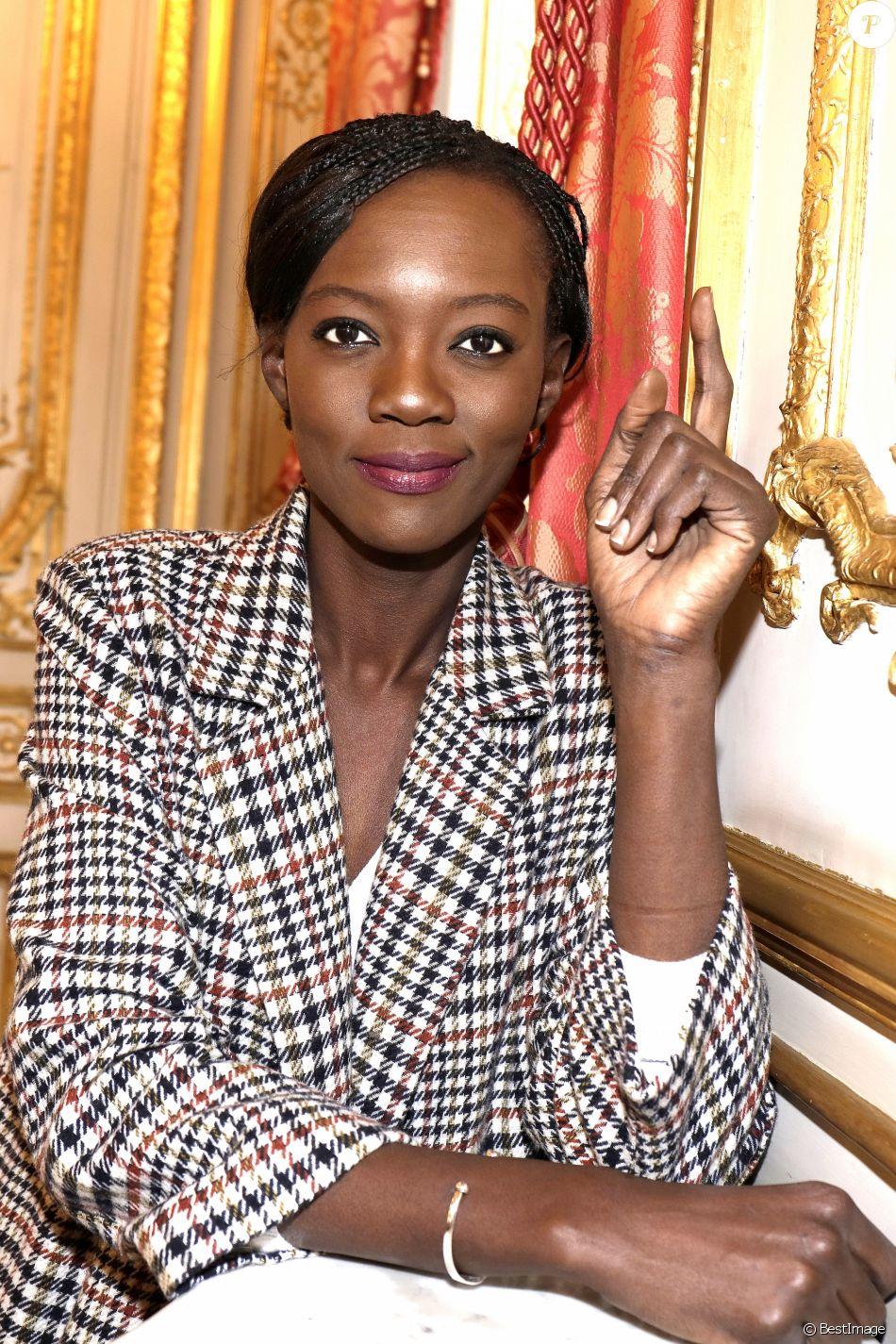 Portrait de Rama Yade, 2017. Paris