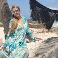 Paris Hilton en vacances à Tulum - Photo publiée sur Instagram le 12 mars 2017