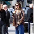 Exclusif - Emilia Clarke à Beverly Hills. Los Angeles, le 18 janvier 2017.