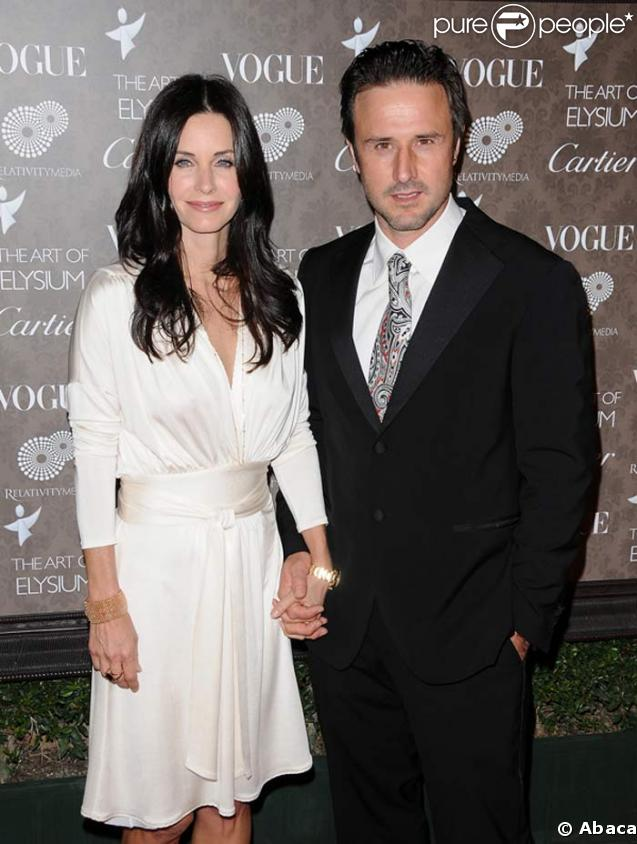David Arquette et sa femme Courteney Cox