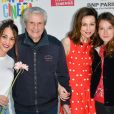 Alice Belaïdi, Claude Lelouch, Elsa Zylberstein et Anaïs Demoustier lors du lancement du 18ème Printemps du Cinéma au cinéma Pathé Beaugrenelle à Paris, France, le 19 mars 2017. © Coadic Guirec/bestimage