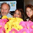 Hippolyte Girardot, Alice Belaïdi et Anaïs Demoustier lors du lancement du 18ème Printemps du Cinéma au cinéma Pathé Beaugrenelle à Paris, France, le 19 mars 2017. © Coadic Guirec/bestimage