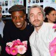 Abd al Malik et Guillaume Gouix lors du lancement du 18ème Printemps du Cinéma au cinéma Pathé Beaugrenelle à Paris, France, le 19 mars 2017. © Coadic Guirec/bestimage