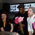 Abd al Malik, Guillaume Gouix et Hippolyte Girardot lors du lancement du 18ème Printemps du Cinéma au cinéma Pathé Beaugrenelle à Paris, France, le 19 mars 2017. © Coadic Guirec/bestimage