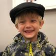 Tristan, le fils de Donald Trump Jr et sa femme Vanessa s'est blessé lors des vacances au ski à Aspen de la famille - Photo publiée sur Instagram le 18 mars 2017