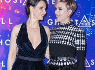 Scarlett Johansson lumineuse à Paris au côté d'une Juliette Binoche décolletée