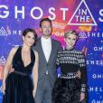 "Juliette Binoche, Scarlett Johansson, Rupert Sanders - Avant-première du film ""Ghost in the Shell"" au Grand Rex à Paris, le 21 mars 2017. © Olivier Borde/Bestimage"