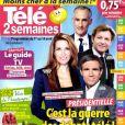 """Couverture de """"Télé 2 semaines"""", numéro 346, programmes du 1er au 14 avril 2017."""