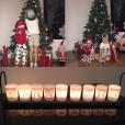 Les deux fils de Kevin Gameiro et sa femme Lina lors des préparatifs pour Noël 2016, photo Instagram.