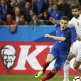Kevin Gameiro lors du match amical France-Espagne le 28 mars 2017 au Stade de France.