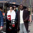 Exclusif - Kris Jenner et son compagnon Corey Gamble font du shopping avec Melanie Griffith à Aspen le 30 décembre 2016.