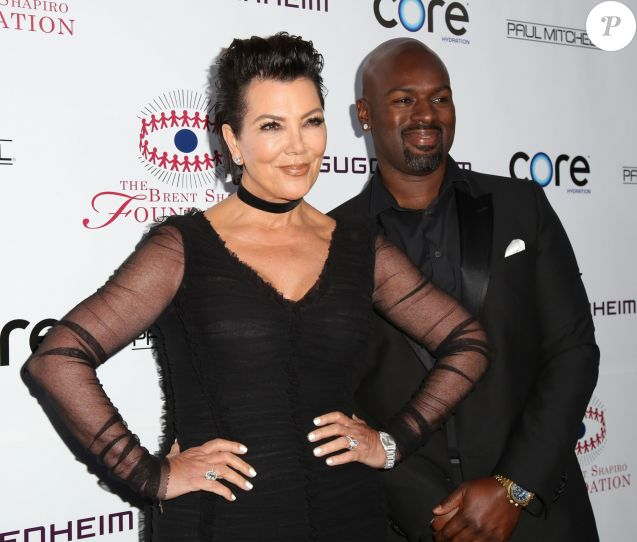 """Kris Jenner, Corey Gamble - Tapis rouge de la soirée """" The Brent Shapiro Foundation """" à Los Angeles Le 17 Septembre 2016."""