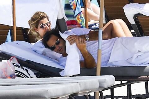 Roger Federer : Parenthèse complice à la plage avec sa femme Mirka