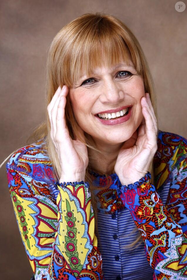 Portrait d'Annie Gautrat, la chanteuse Stone en mars 2014.
