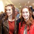 """Exclusif - Loup et Liv Delon - Lancement de la marque de vêtements de cuir """"Anthony Delon 1985"""" chez Montaigne Market à Paris. Le 7 mars 2017 © Philippe Doignon / Bestimage"""