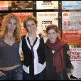 Rentrée des théâtres privés du 14 janvier 2009 : Françoise Lepine, Anne Richard et Constance Carrelet