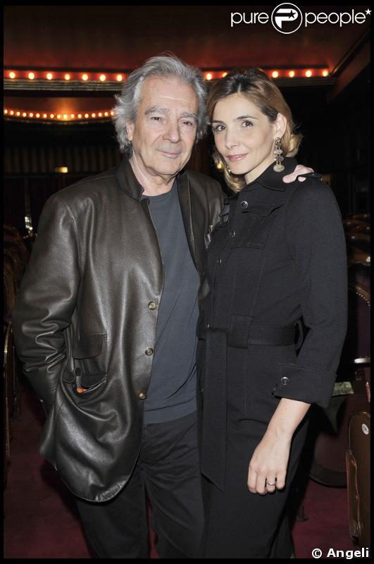 Rentrée des théâtres privés du 14 janvier 2009 : Pierre Arditi et Clotilde Courau