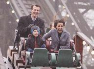 Marie et Joachim de Danemark : Ravis au parc d'attractions avec Henrik et Athena