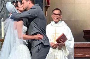 Ryan Harrison célèbre son mariage avec Lauren... et finit avec un cocard !