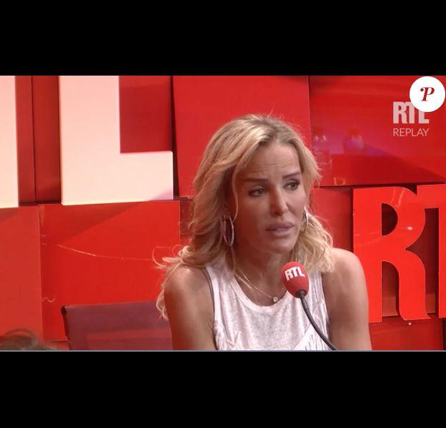 """Ophélie Winter dans """"On refait la télé"""" sur RTL, le 8 avril 2017."""