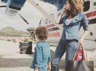 Chloé Mortaud : Maman craquante en vacances avec son fils Matis