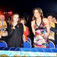 Stéphanie de Monaco et sa fille Pauline au 33ème festival du Cirque de Monte-Carlo