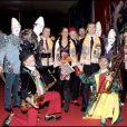 Stéphanie de Monaco (entourée de Christian Estrosi et David Coulthard) au 33ème festival du Cirque de Monte-Carlo